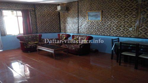 ruangan villa di ciater