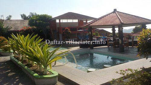 fasilitas kolam renang private