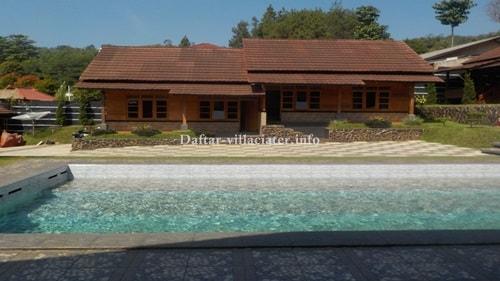 daftar villa di ciater subang
