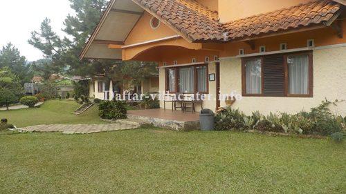 villa di ciater untuk rombongan fasilitas kolam renang