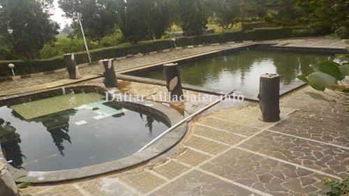 villa di ciater untuk rombongan fasilitas kolam renang air panas